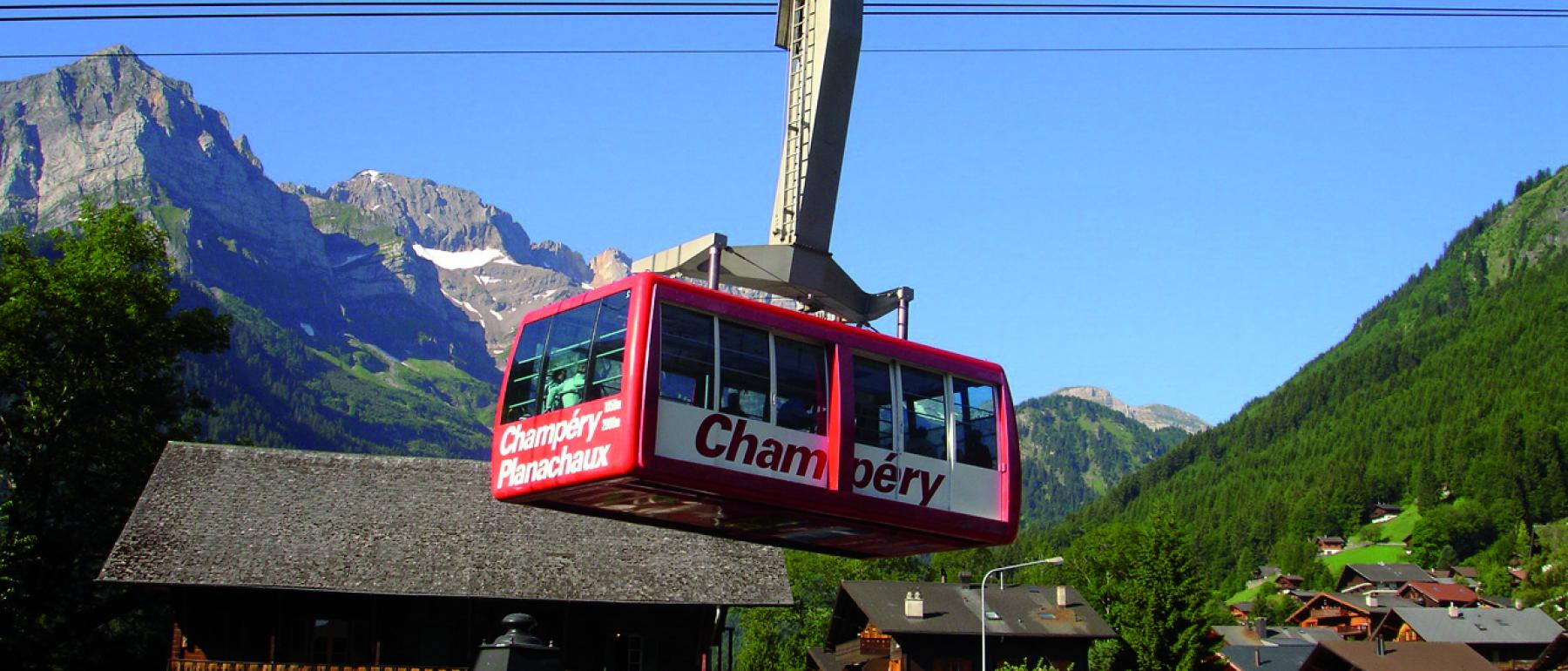 Summer in Champery