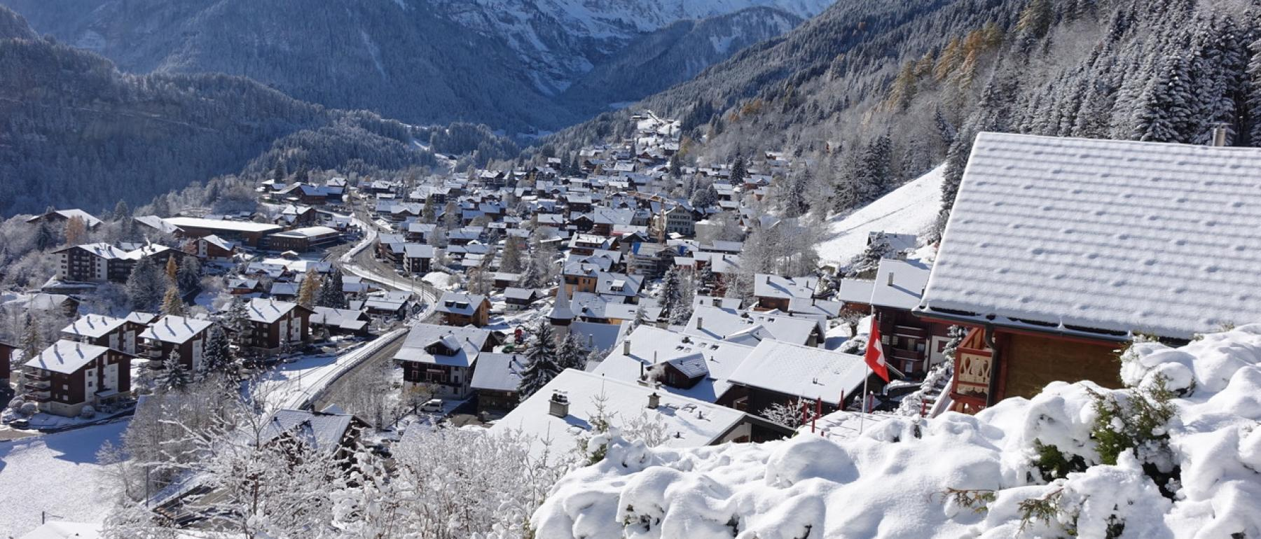 Winter in Champery