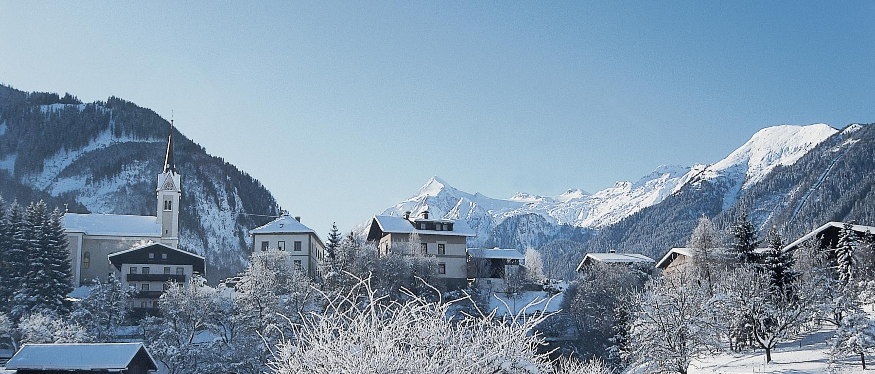 Winter in Kaprun
