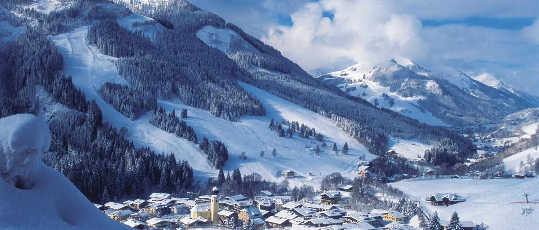 Winter in Saalbach